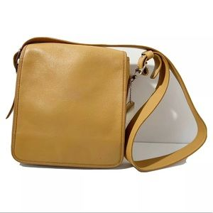 COACH Vintage Tan Leather Shoulder Bag